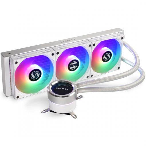 Lian Li GALAHAD 360mm AIO RGB CPU Cooler - White