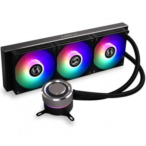 RGB CPU Cooler - Black