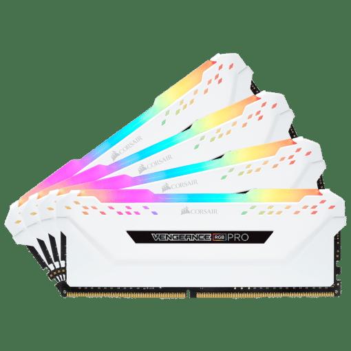 Corsair Vengeance RGB PRO 64GB 4x16GB DDR4 3600 White